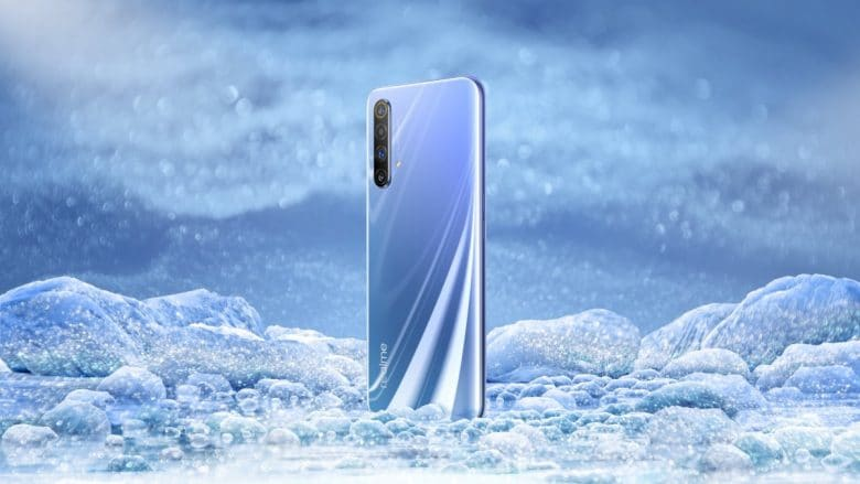 Realme X50 5G Polar colour