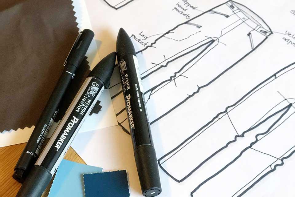 Fashion design and product development