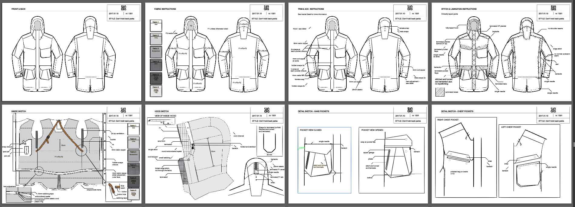 KrissCo Activewear Tech Pack