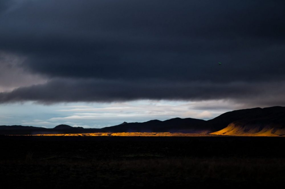 Moody days in Iceland