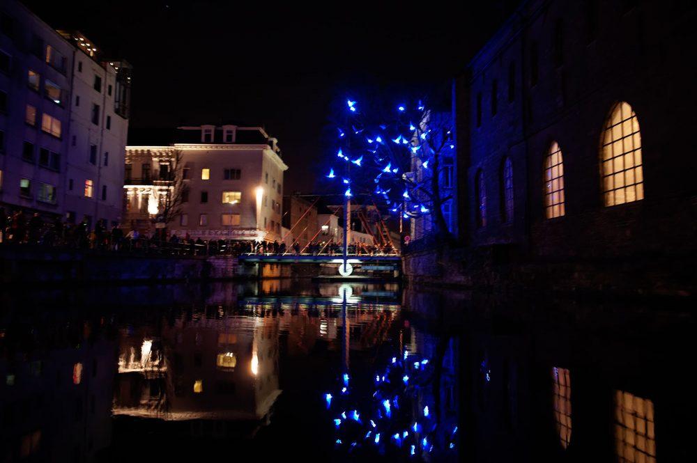 Light Festival Ghent, January 2012