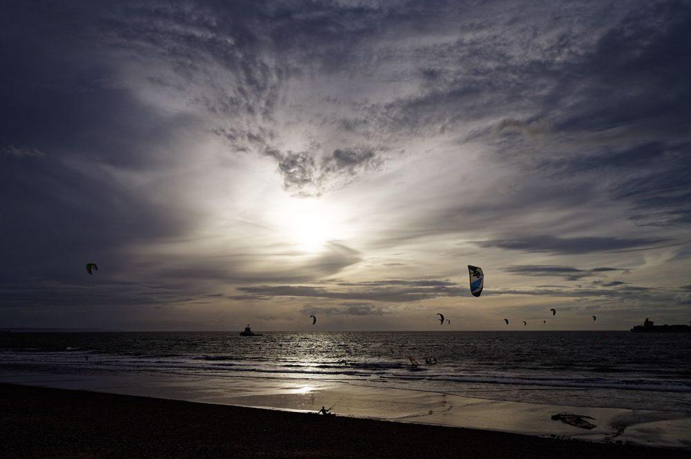 Kite surfers, November 2014