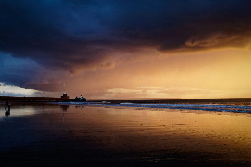 Sunset (Le Havre), November 2014