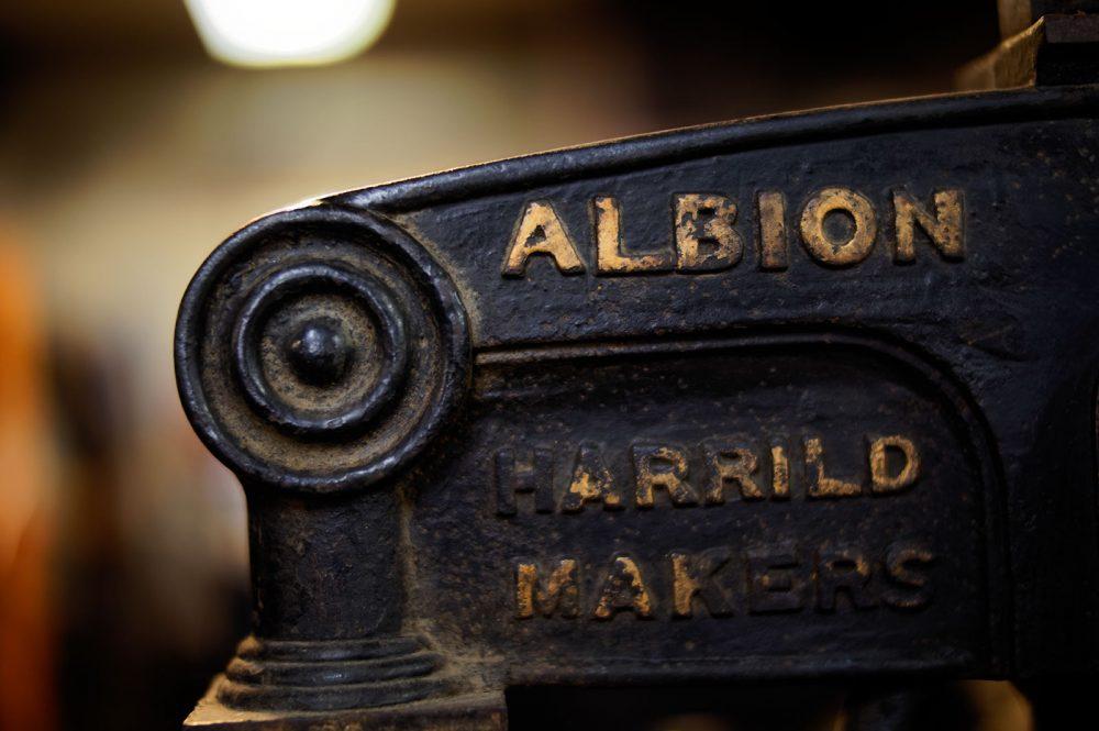 Old printing presses, June 2016