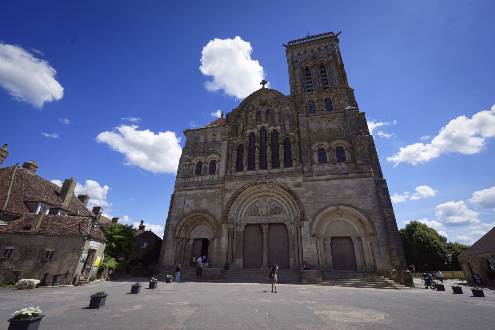 Vézelay, July 2017
