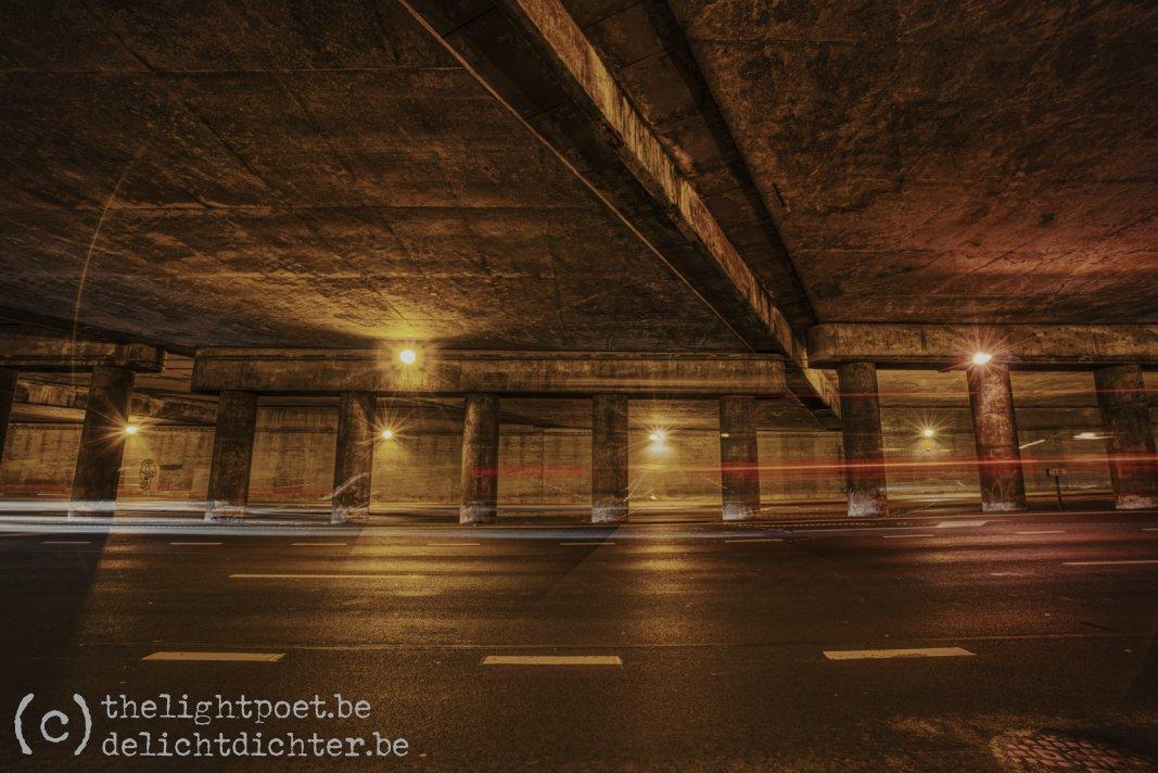Under the bridge, November 2019