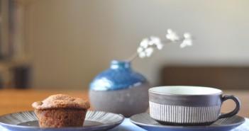 Aeblemuffins uden maelkeprodukter