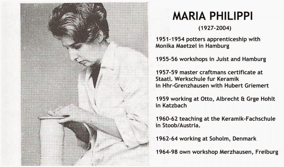 Maria Philippi biografi