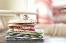 Lav frøposer af gavepapir