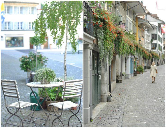 Blomster i gadebilledet