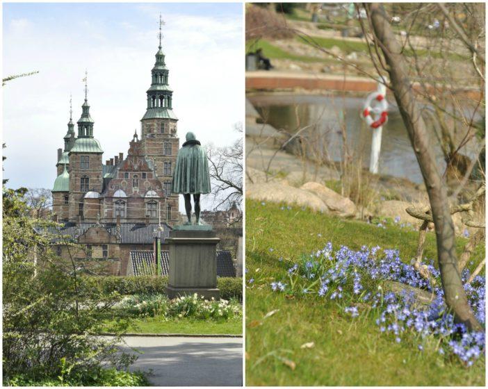 Botanisk have og Rosenborg Slot