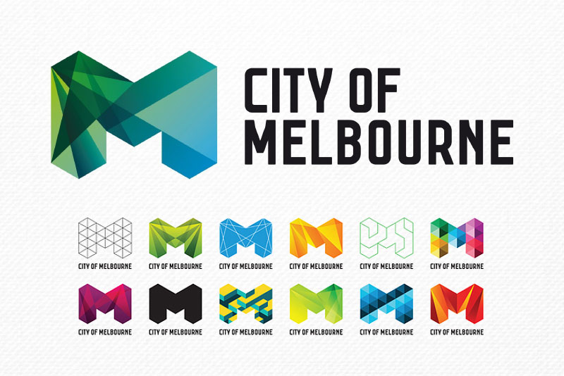 What is a logo design - City of Melbourne has a Dynamic Logo