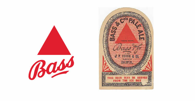 What is a Logo Design? - The-History-of-the-Logo - Bass Red Triangle Logo Design