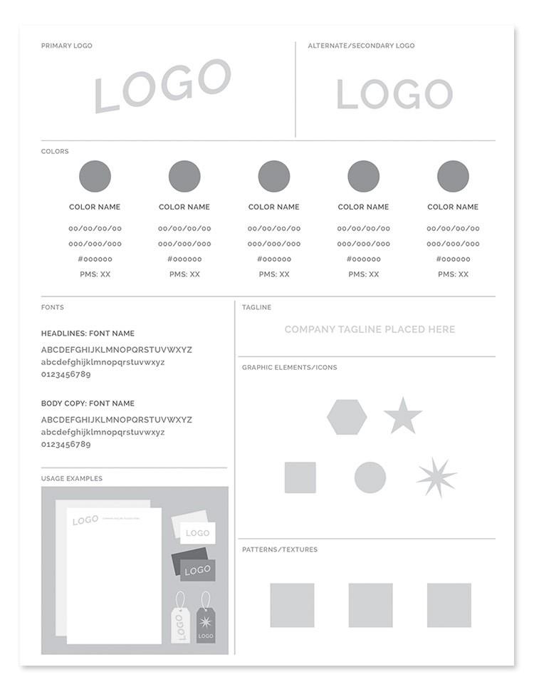 Key Design Elements of Branding - Brand Guidelines - Styles Guides- Branding - The Logo Community