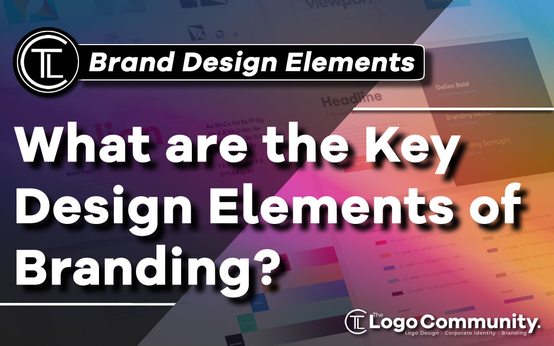 What are the Key Design Elements of Branding