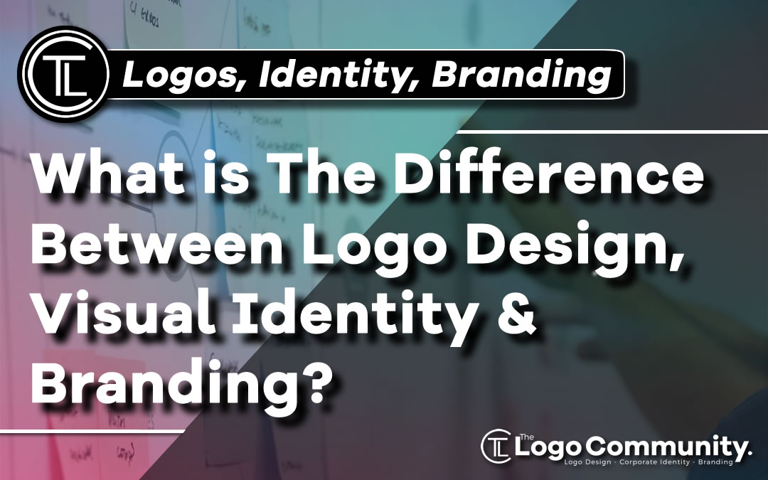 What is The Difference Between Logo Design, Visual Identity, and Branding