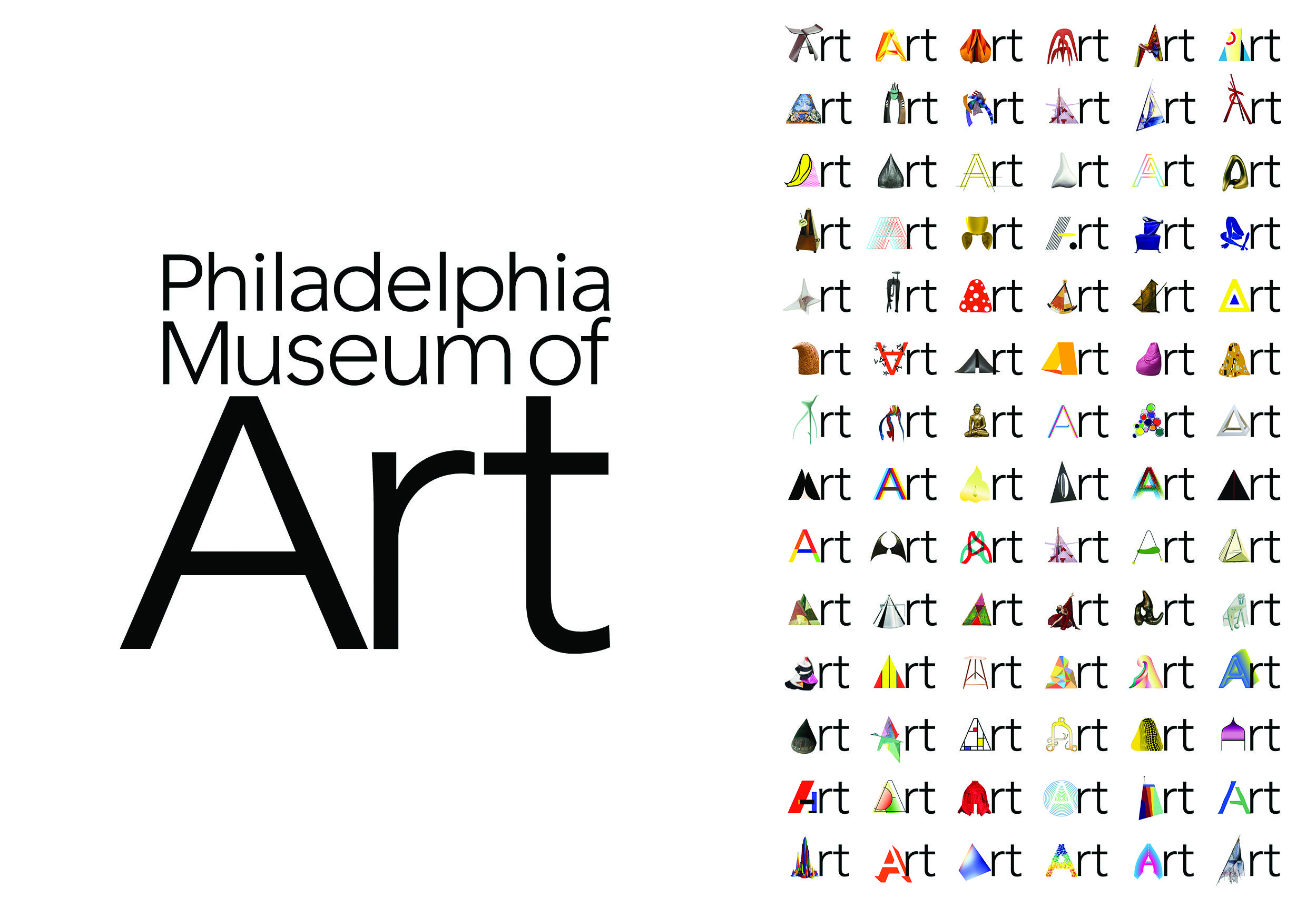 The Philadelphia Museum of Art - Dynamic logo system