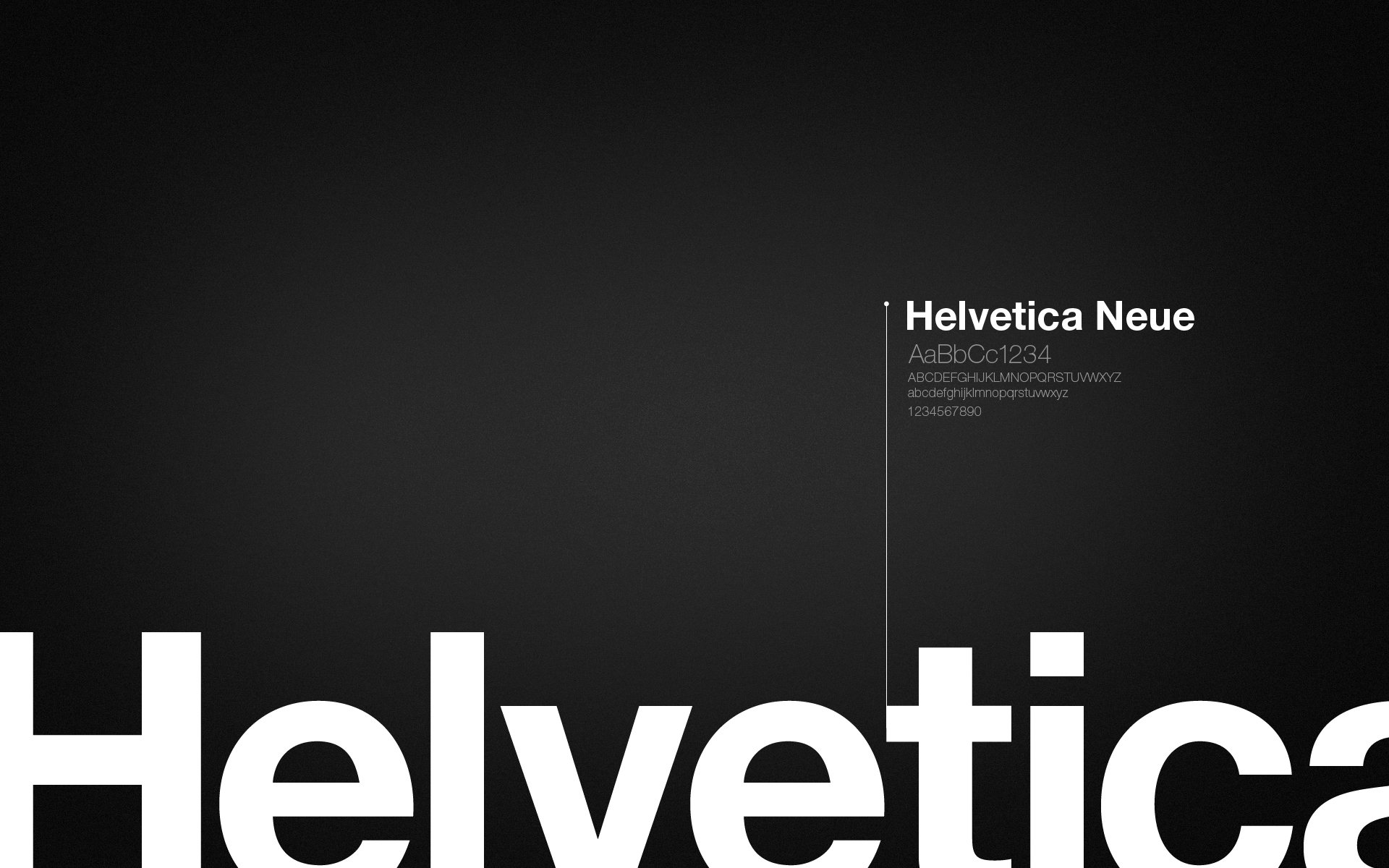 Tips For Designing Your Business Logo - Helvetica Typeface