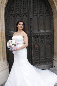Mermaid dress, fishtail weddign dress. south london bridal boutique offering designer wedding dress samples