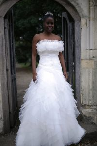 A line wedding dress to buy in croydon perfect wedding dress for your special day. south london based bridal boutique