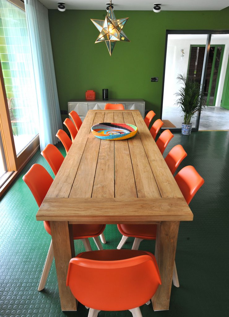Dining table seating 12