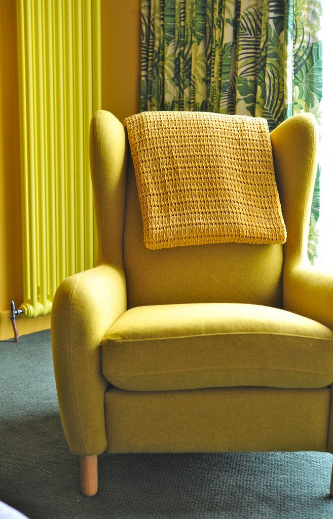 Armchair in second sitting room
