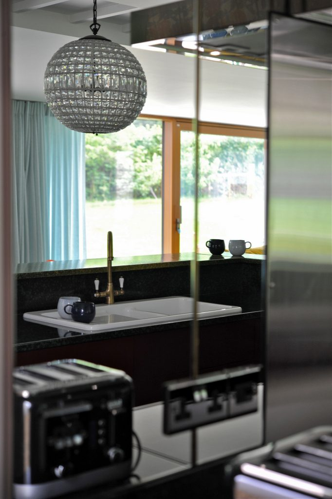 Kitchen reflection
