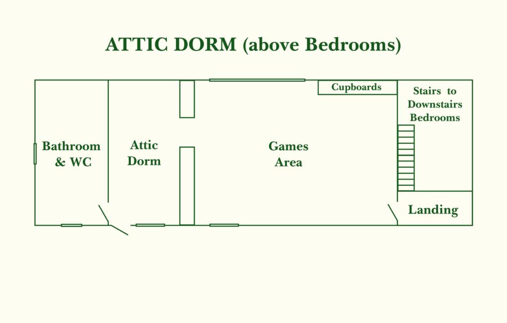 Attic Dorm (1st floor)