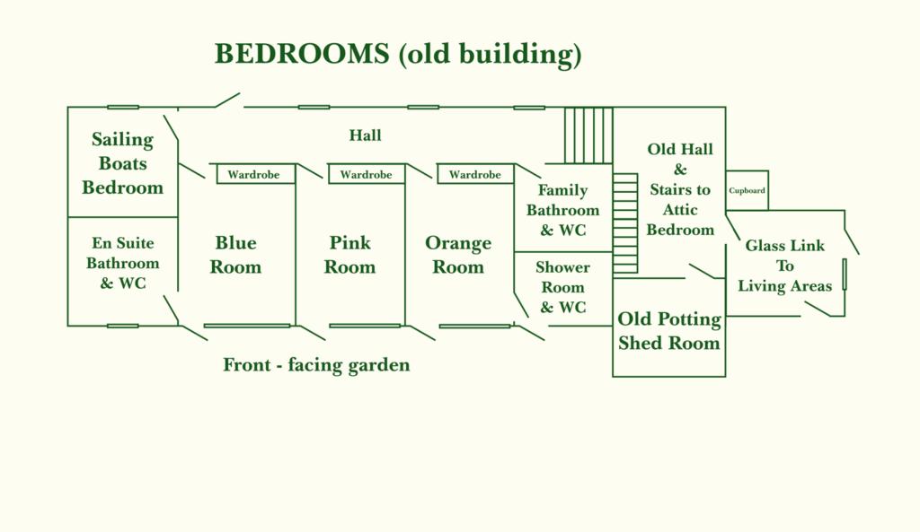 Bedrooms (ground floor)