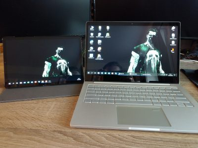 Tablet als Monitor verwenden