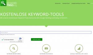 google keyword tools seo