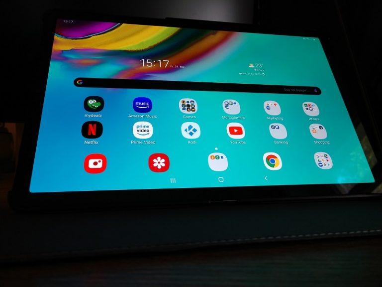 tablet splitscreen
