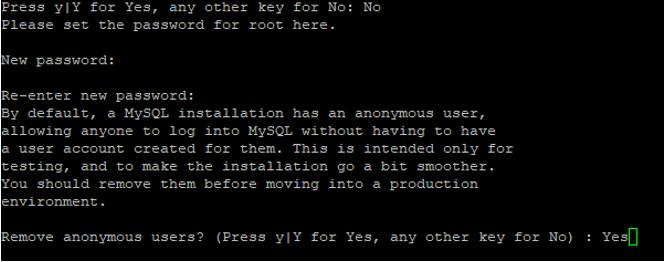 Passwort für die SQL Datenbank vergeben