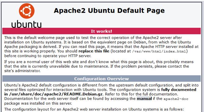 Nextcloud zeigt nur Apache2 default Page