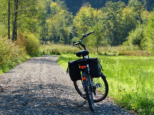 Fahrradschlauch wechseln ohne Ausbau