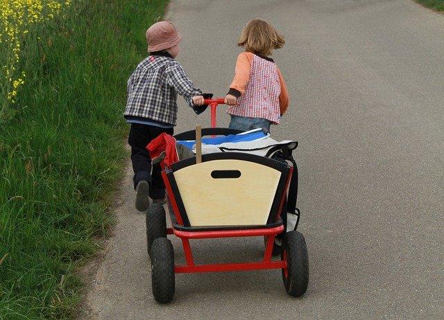 Faltbarer Bollerwagen - Klappbollerwagen