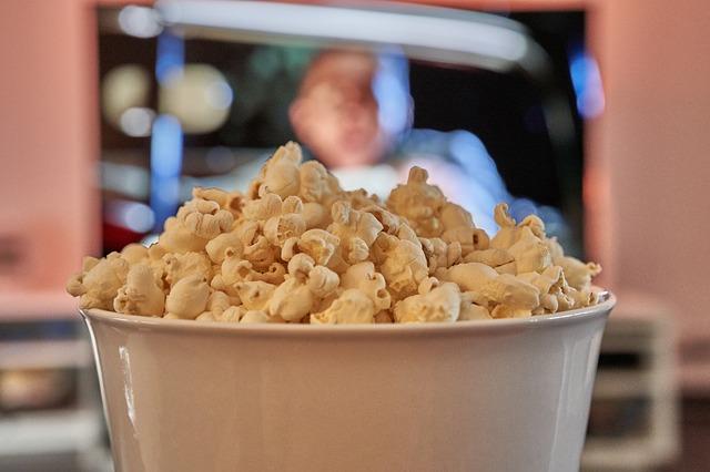 Popcornmais und Popcorn