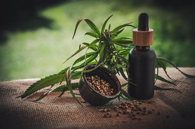 CBD aus Hanf und Cannabis Öl