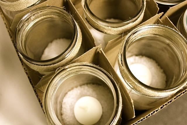 LED Kerze mit Fernbedienung