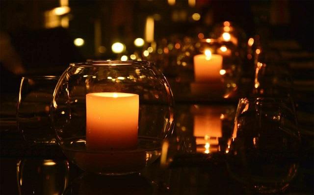 LED Kerze mit Timer