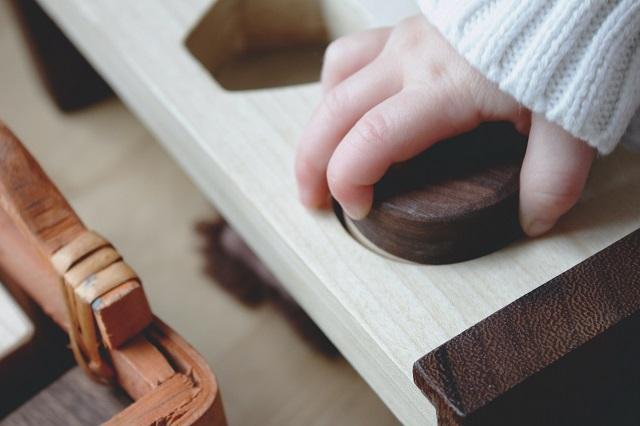 Pädagogisches Spielzeug nach Montessori zur Lernförderung