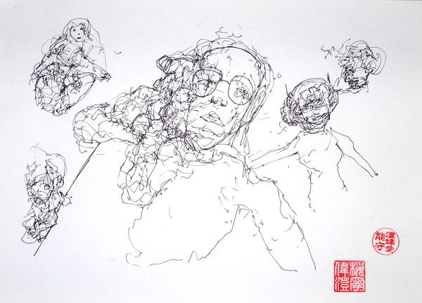 Odys S. Stylianos, Ink 0010, 21.0 x 29.7 cm