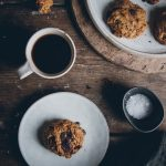 Chocolate chip cookies with cardamom and coconut sugar