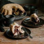 Tiger Cake - vanilla and chocolate swirl cake