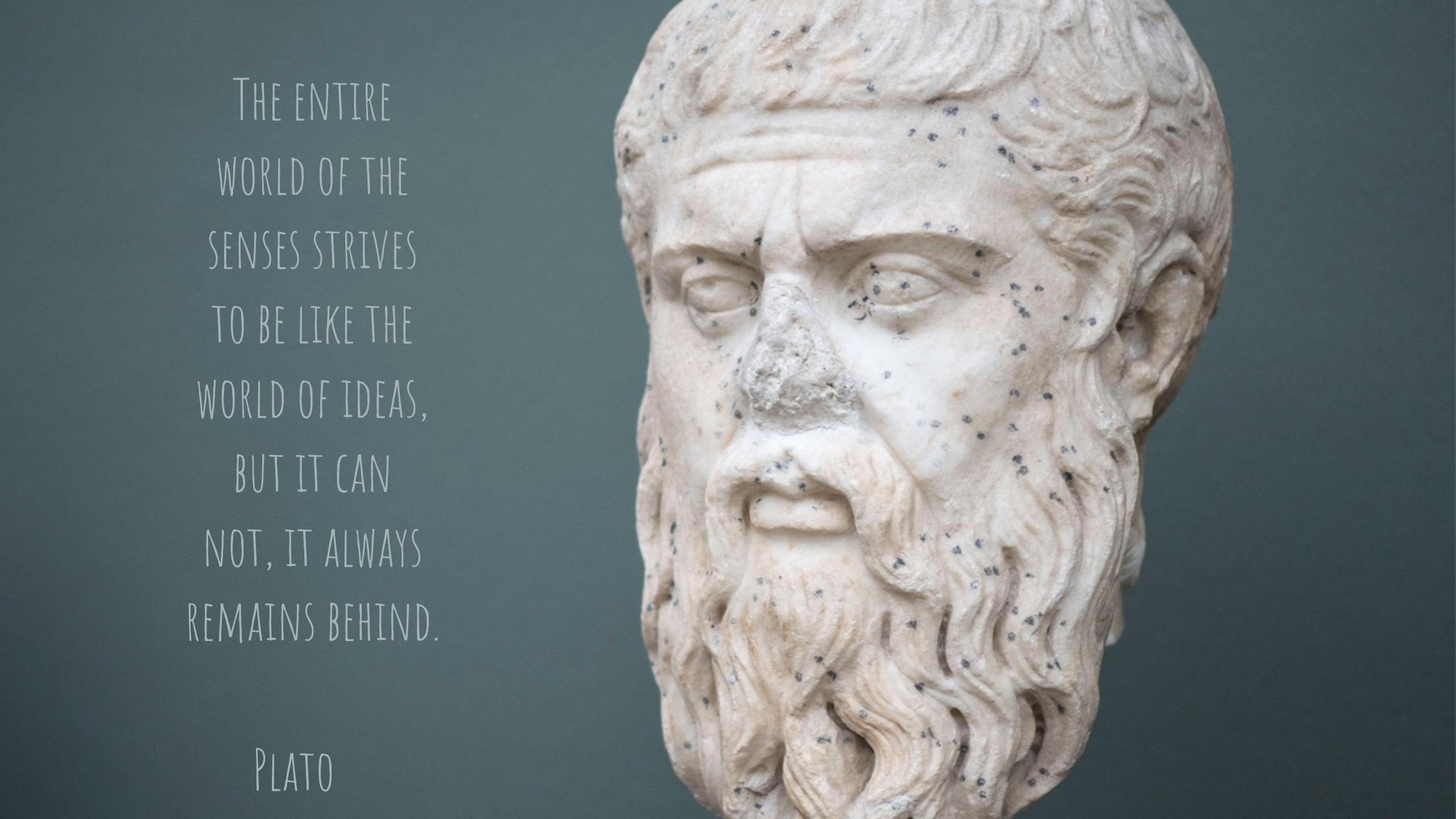 Treacherous friends (3): Plato (en/de)