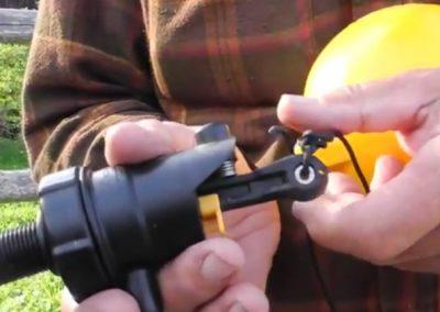 Rojo Float valve