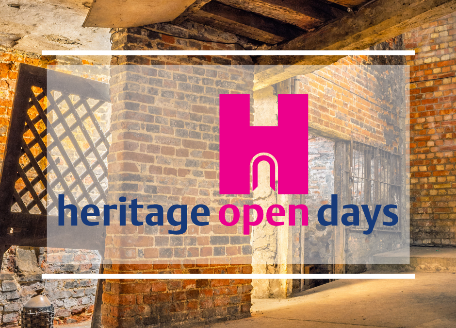 Heritage Open Days – Back by popular demand