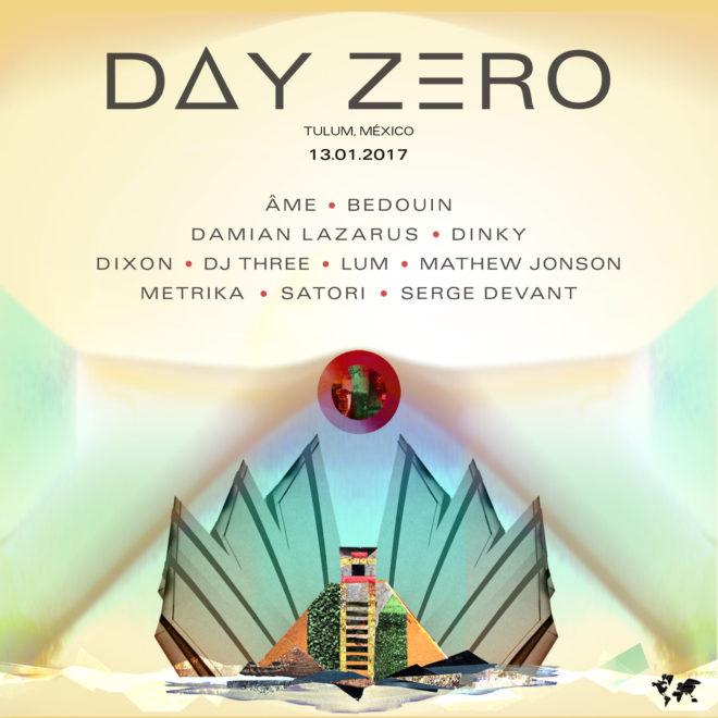 Damian Lazarus Day Zero 2017