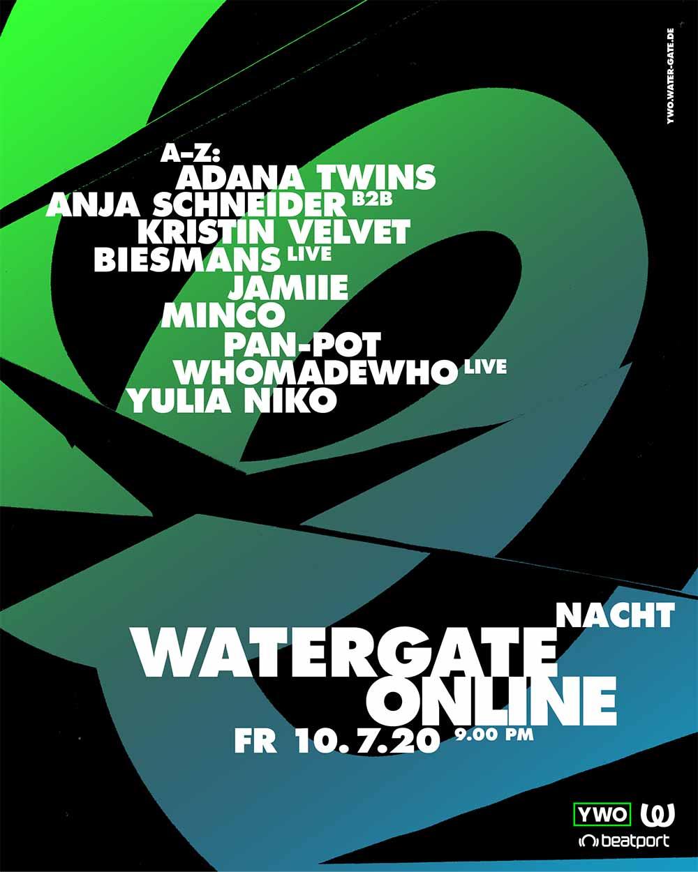 Watergate YWO Lineup