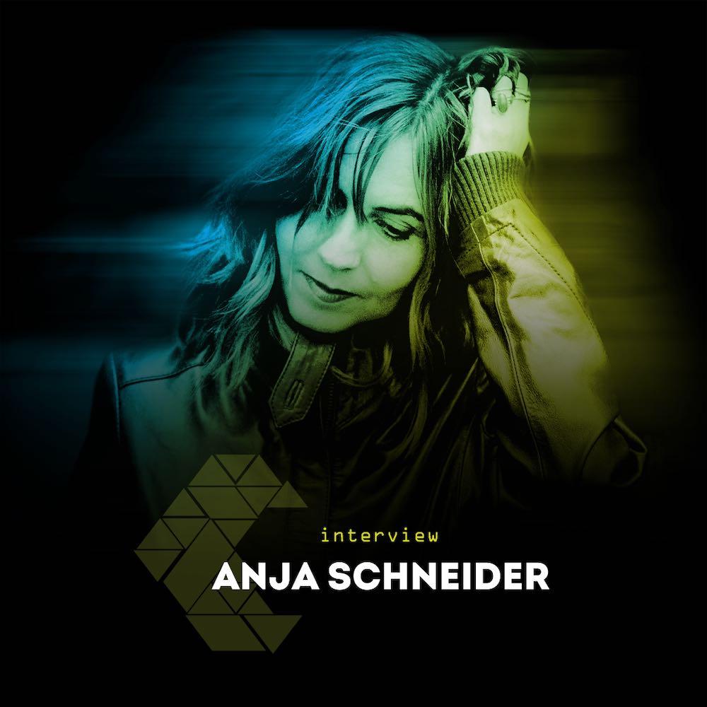 """""""Anja Schneider - Interview Cover"""""""